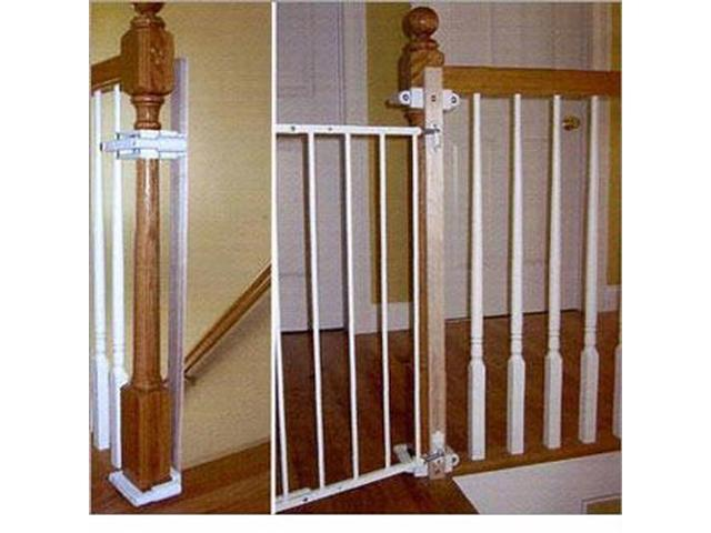 Kidco Stairway Gate Installation Kit   No Drilling   K12