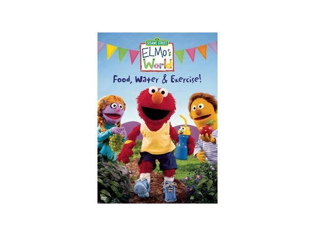 Elmo's World: Food, Water & Exercise