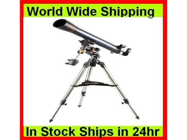 Celestron AstroMaster 90 EQ Equatorial Refractor Telescope 21064