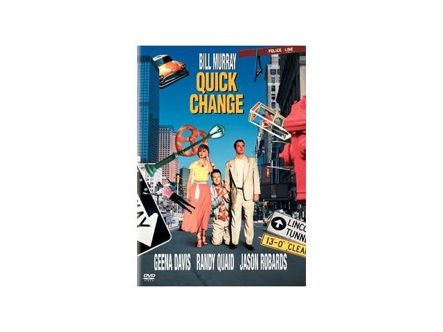 Quick Change Bill Murray, Geena Davis, Randy Quaid, Jason Robards, Bob Elliott, Philip Bosco, Tony Shalhoub