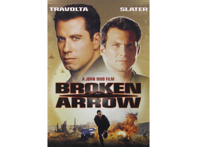Broken Arrow John Travolta, Christian Slater, Samantha Mathis, Delroy Lindo, Bob Gunton, Frank Whaley, Howie Long, Vondie ...