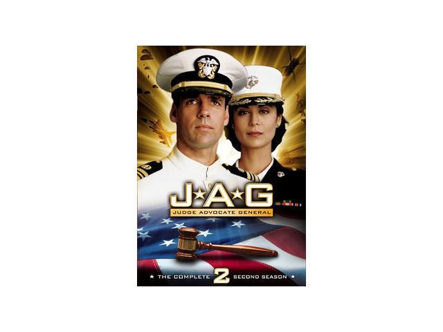 JAG: The Complete Second Season (1995 / DVD) Monique Edwards, David James Elliott, Catherine Bell