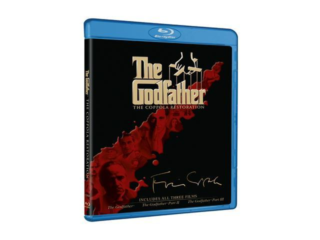 The Godfather - The Coppola Restoration Giftset (BR / Special Edition / 4 DISCS) Al Pacino, Robert De Niro, Robert Duvall, ...