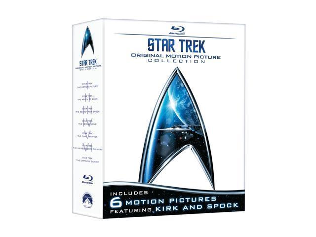 Star Trek: Original Motion Picture Collection (Blu-Ray / 7 DISCS / WS) William Shatner, Leonard Nimoy, DeForest Kelley, James Doohan, George Takei