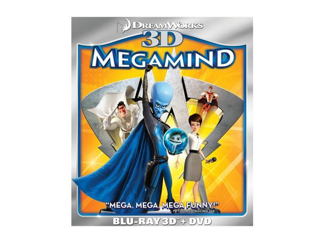 Megamind (3D Blu-ray + DVD + Blu-ray) Will Ferrell (voice), Brad Pitt (voice), Tina Fey (voice), Jonah Hill (voice), David Cross (voice)
