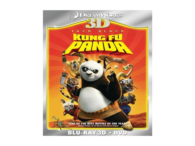 Kung Fu Panda (3D Blu-ray + DVD + Digital Copy + Blu-ray)