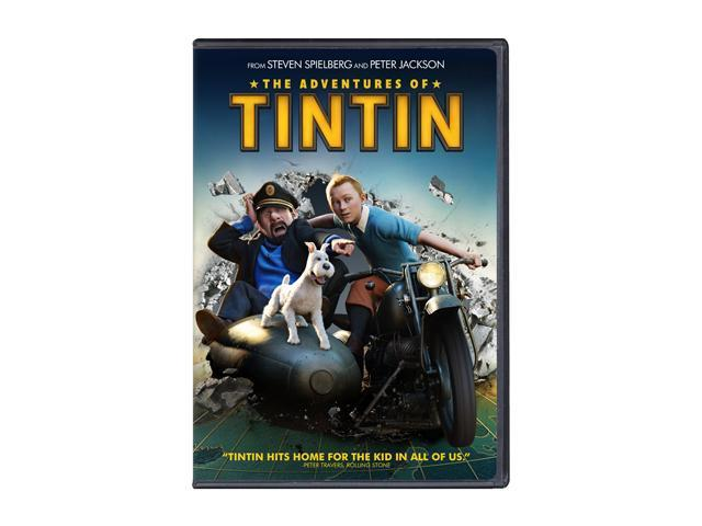 The Adventures of Tintin (Coupon + DVD) Jamie Bell (voice), Daniel Craig (voice), Andy Serkis (voice), Simon Pegg (voice), ...