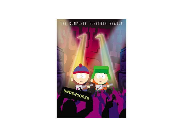 South Park: The Complete Eleventh Season (DVD) Trey Parker, Matt Stone, Isaac Hayes, Adrien Beard, B.J. McCrory