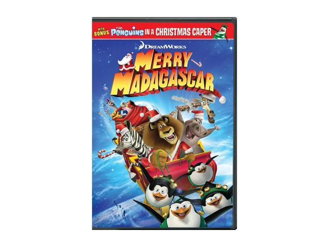 Merry Madagascar (DVD) - Newegg.com