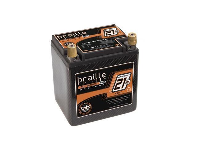 Braille Carbon Fiber AGM Battery B3121C