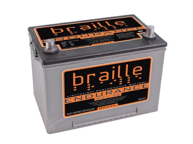 Group 34 Braille Endurance AGM Battery B6034