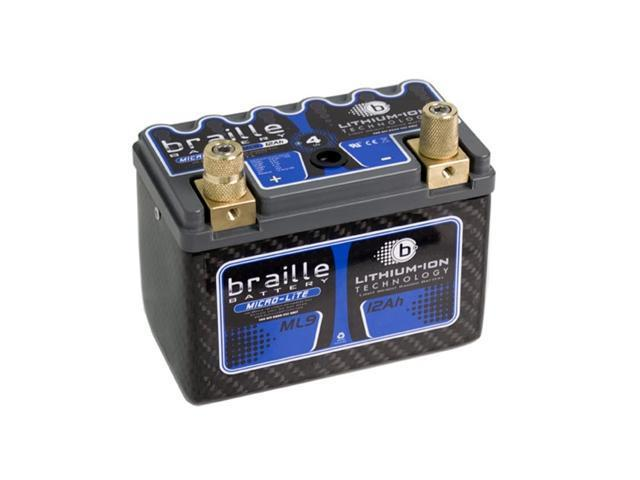 Braille Lithium Micro-Lite Carbon Battery ML9C