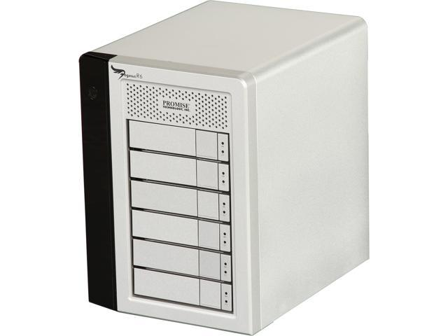 PROMISE Pegasus R PR6HD24TUS Hardware RAID with Thunderbolt Storage Solutions - 24TB (6x4TB)