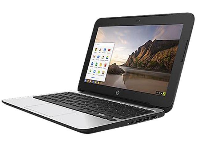 HP 11 G4 (P0B78UT#ABA) Chromebook Intel Celeron N2840 (2.16 GHz) 4 GB Memory 16 GB eMMC SSD 11.6