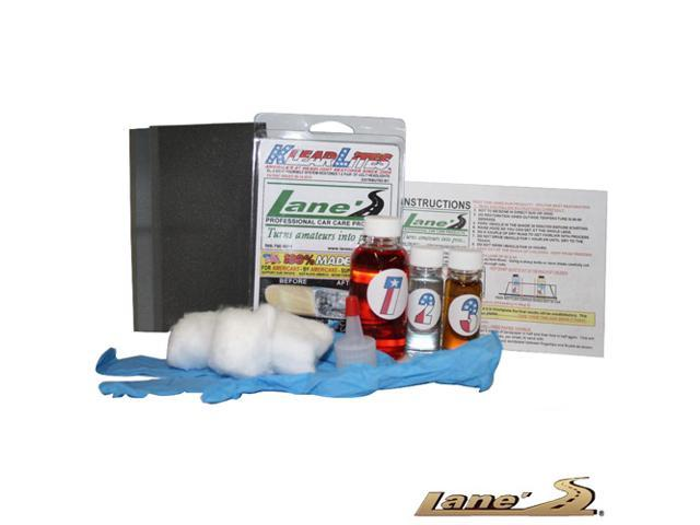 Lane's Headlight Lens Restoration Cleaner Restores Auto Headlights to New Condition