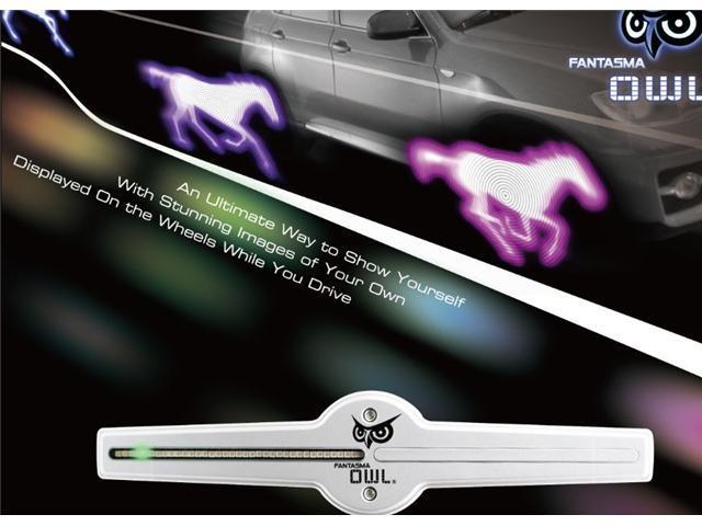 FANTASMA OWL LED On-Wheel Lighting/Image System-15