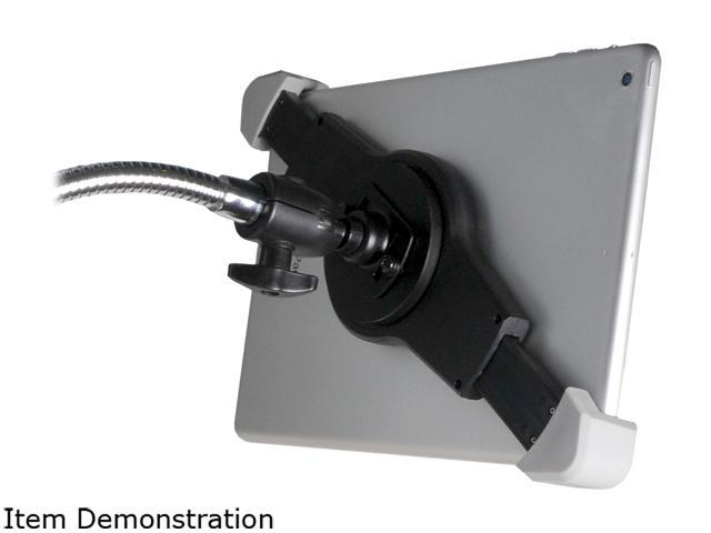 CTA DIGITAL PAD-WBS Wall Mount Bathroom Stand with Paper Holder compatible with iPad