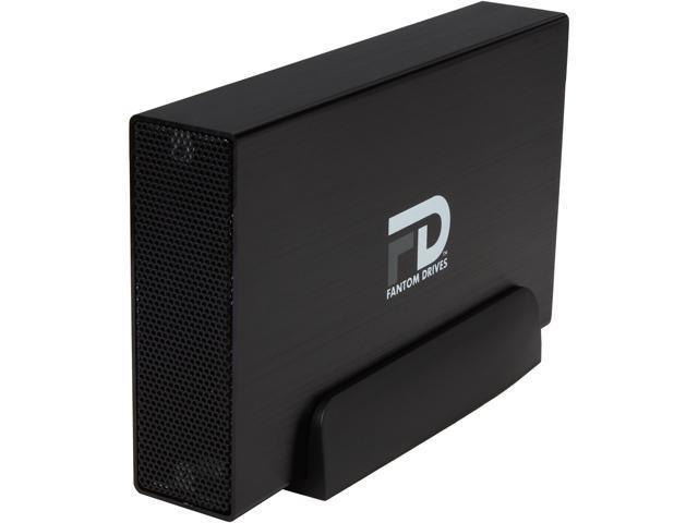 Fantom Drives Professional 3TB USB 3.0 / eSATA Aluminum Desktop External Hard Drive GFP3000EU3 Black