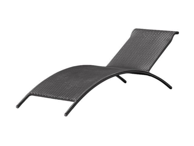 Zuo Modern Biarritz Lounge Chair Espresso