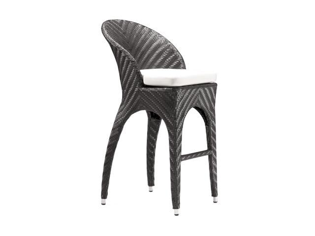 Zuo Modern Corona Bar Chair Espresso