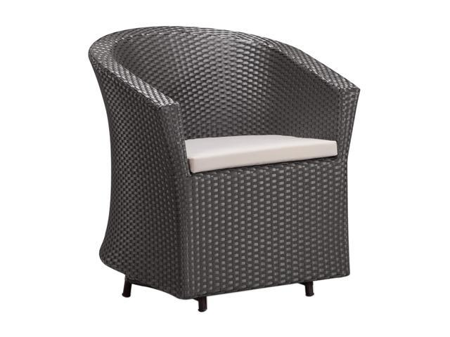 Zuo Modern Horseshoe Bay Chair Espresso