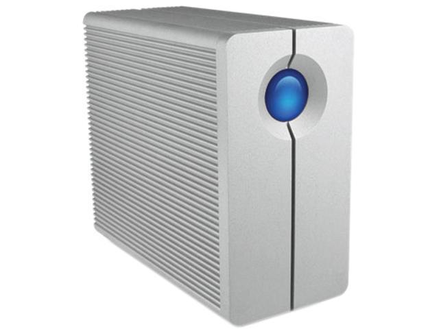 """LaCie 2big Quadra USB 3.0 8TB USB 3.0 / 2 x Firewire800 3.5"""" External Hard Drive LAC9000317"""