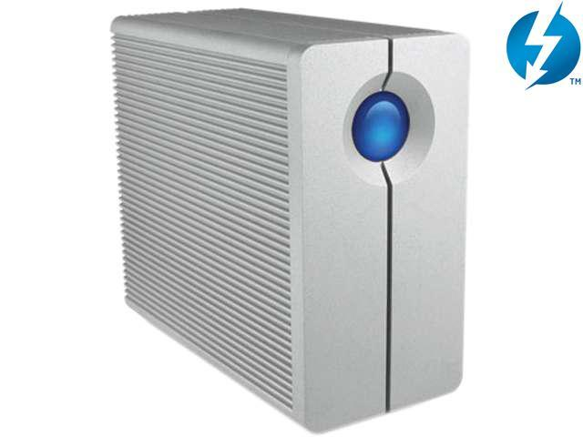 LaCie 2big Thunderbolt 6TB External Hard Drive with Cable (9000360)