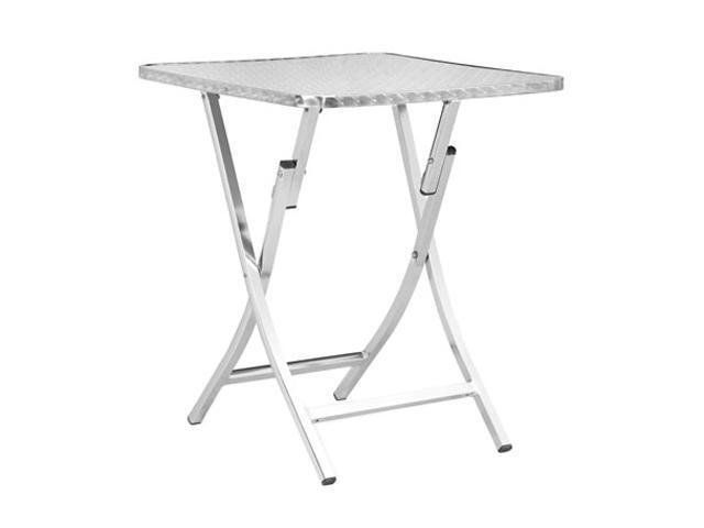 Zuo Modern 700603 Bard Folding Table Aluminum