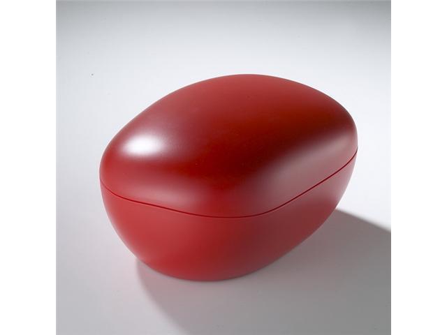 U-CUBE Pebble Series Polar Ice Tray - Red