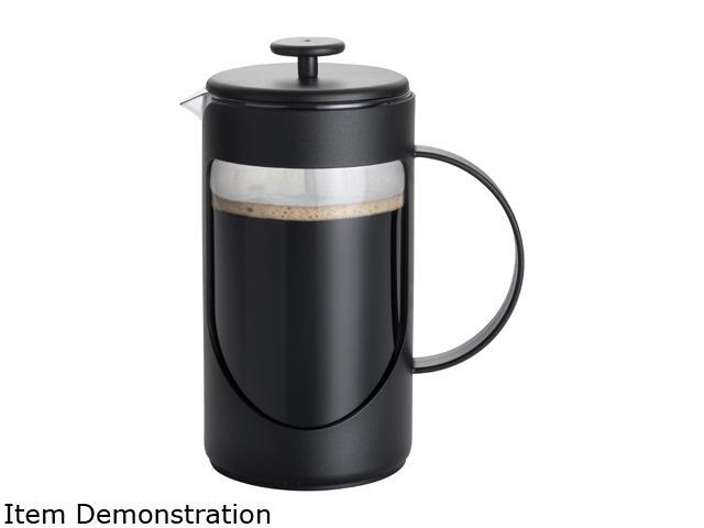 BonJour Ami-Matin Black Flavor Lock French Press, 8 Cup