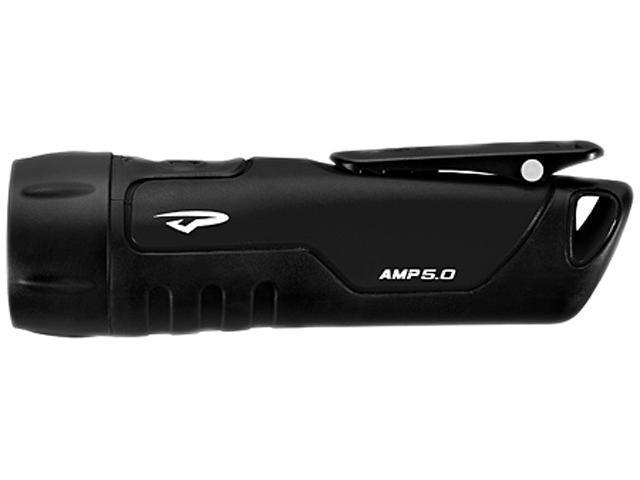 Princeton Tec Amp 5.0 LED Flashlight, Gray