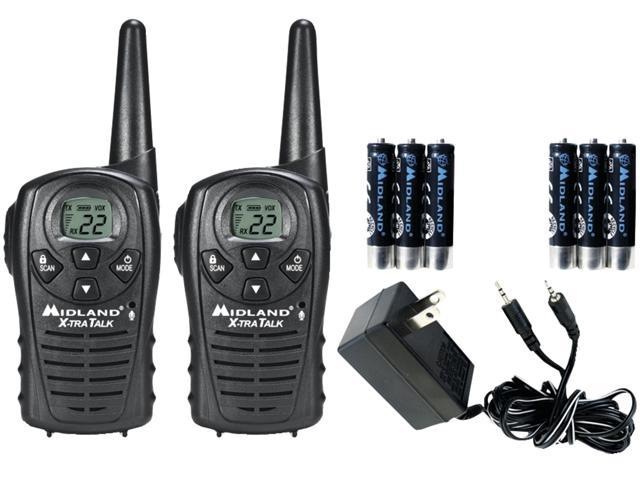 Midland LXT118VP Radios with Batteries/Charger