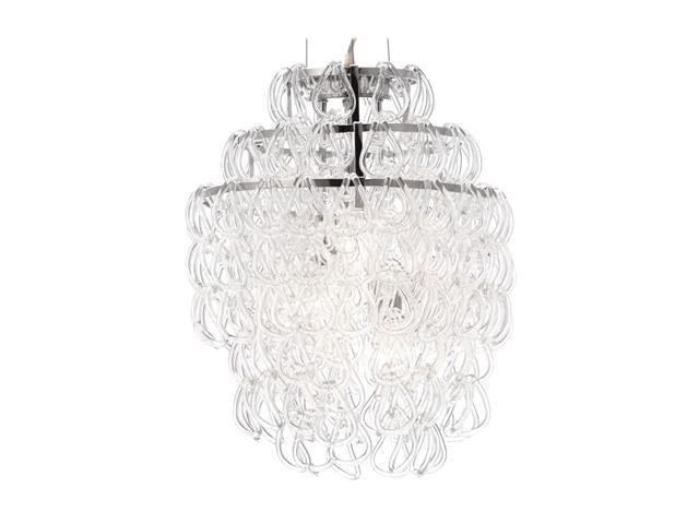 Zuo Modern Cascade Ceiling Lamp Chrome