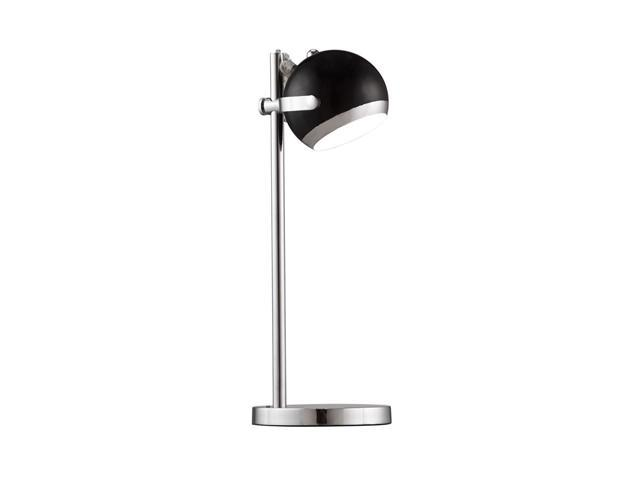Cyber Table Lamp - Black and Chrome By Zuo Modern