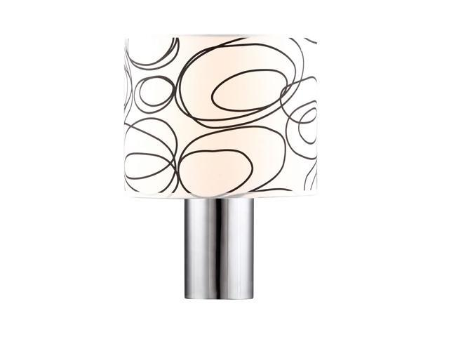 Dawn Table Lamp w/ White Fabric By Zuo Modern