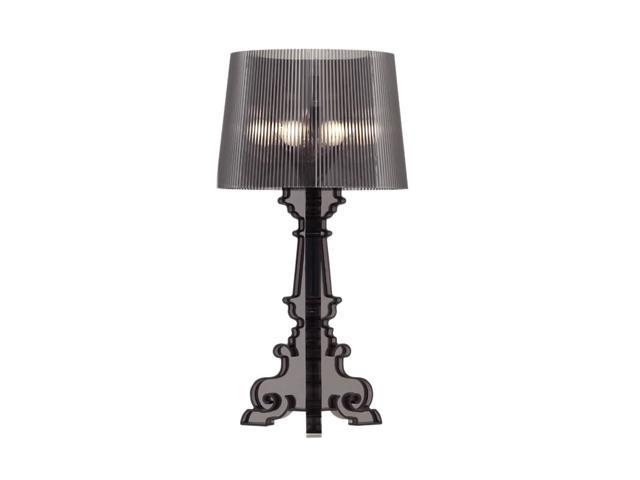 Zuo Modern 50041 Salon L Table Lamp Translucent Black