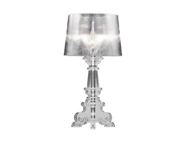 Zuo Modern 50042 Salon L Table Lamp, Clear