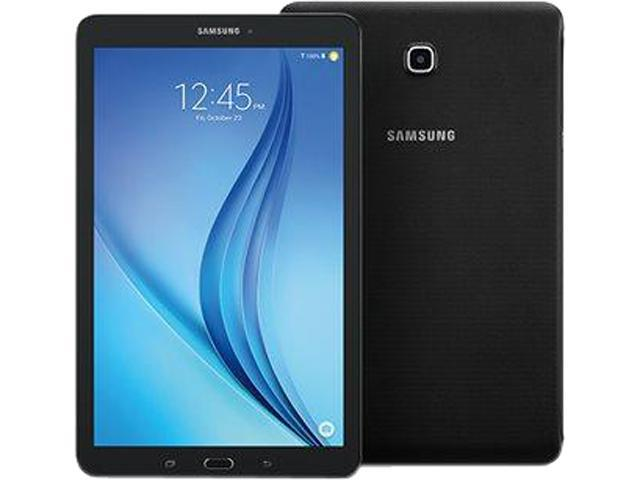 Samsung Galaxy Tab E 9.6 WXGA Quad Core 1.2GHZ 1.5GB 16GB 5.0MP MicroSD Android 5.0 Tablet - Black
