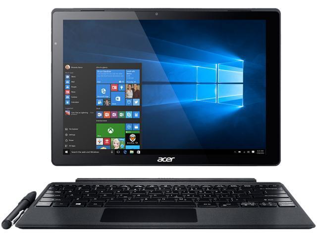 Acer Aspire Switch Alpha 12 SA5-271-3475 Intel Core i3 6100U (2.30 GHz) 4 GB LPDDR3 128 GB SSD Intel HD Graphics 520 12