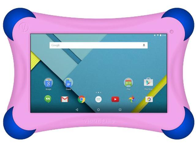 VISUAL LAND PRESTIGE 7QL 16GB TABLET W/BUMPER PINK