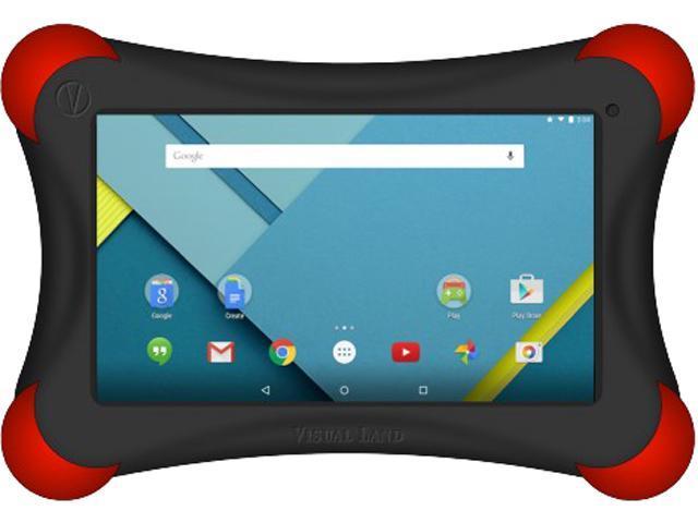 Visual Land Prestige ME7QLBP16GBRED Tablet Allwinner A33 Cortex A7 1.30 GHz 1 GB Memory 16 GB Flash Storage 7