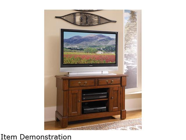 Home Styles Aspen Rustic Cherry TV Stand 5520-09 - OEM