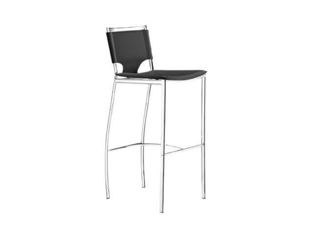 Zuo Modern 300156 Set of 2 Lark Bar Chair Black - OEM
