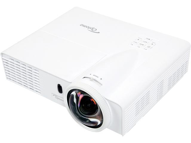 Optoma - W305ST - Optoma W305ST WXGA 3200 Lumen Full 3D DLP Short Throw Projector with HDMI - 2.8 - UHP - 190 W - SECAM,