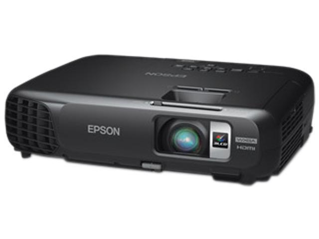 Epson - V11H550120 - Epson PowerLite V11H550120 LCD Projector - 720p - HDTV - 16:10 - F/1.58 - 1.72 - SECAM, NTSC, PAL -
