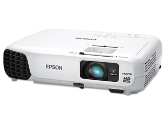Epson - V11H566020 - Epson PowerLite 725HD LCD Projector - 720p - HDTV - 16:10 - F/1.58 - 1.72 - UHE - 200 W - 5000 Hour