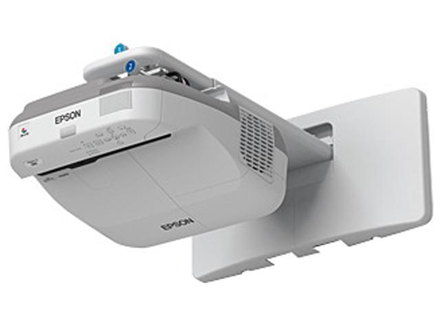 Epson - V11H604020 - Epson PowerLite 580 LCD Projector - HDTV - 4:3 - 1.8 - UHE - 245 W - SECAM, NTSC, PAL - 4000 Hour