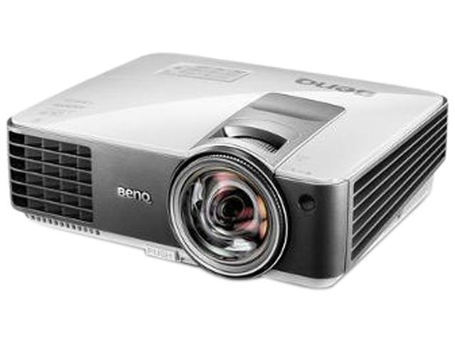 BenQ MX824ST, WXGA (1280 x 800) resolution, 3200 ANSI Lumens, 13,000:1 Contrast ratio, Short throw projector with optional pen and finger touch interactive features, HDMI / MHL inputs, Analog VGA, LAN