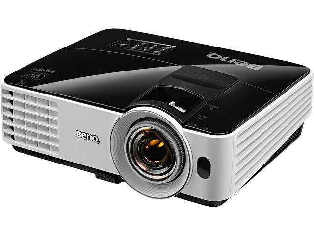 BenQ - MW621ST - BenQ MW621ST 3D Ready DLP Projector - 720p - HDTV - 16:10 - F/2.6 - 2.78 - 190 W - SECAM, NTSC, PAL -