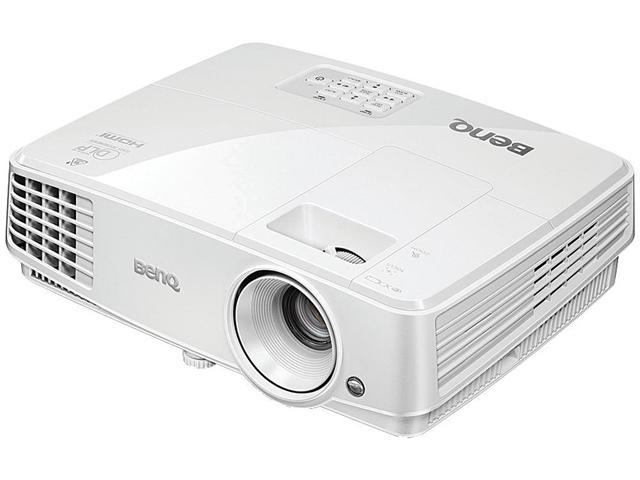 BenQ MX570 XGA 1024 x 768, 3200 ANSI Lumens, 13,000:1 Contrast ratio, HDMI and Analog connectivity, Up to 10,000 hours lamp life, LAN control, DLP Data Projector.